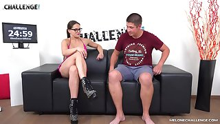 Impeccable hard sex during casting interview