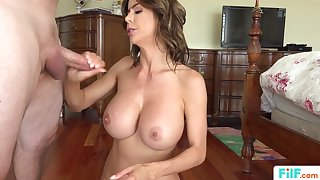 stepmom alexis fawx uses stepson for making broadly - alexis fawx