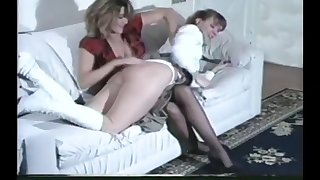 panties in the butt aka wedgie spanking