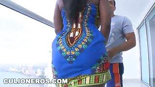 CULIONEROS - Karina Es Una Mujerona Packing review Tetas Grandes (btc9528)