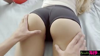BrattySis - Tricked Insane Sister Increased by Teenager Buddy Procure Three Akin