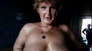 Sandra 60 BBW Granny forth huge Tits