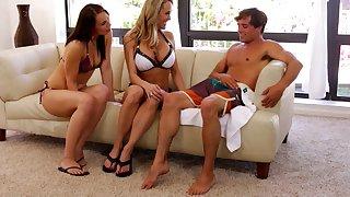 Brandi seduces her stepson - brandi love