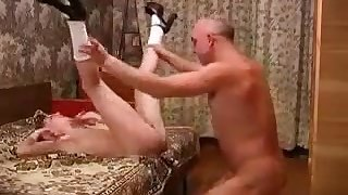 Young Cutie Russian Stepdaughter Ask Not Daddy For Copulation