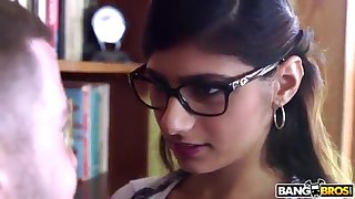 BANGBROS - Mia Khalifa is Back and Sexier Than Ever! Bust It Out!