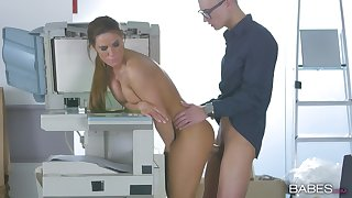 Tyra Moon goes to extremes to capture co-worker's attention