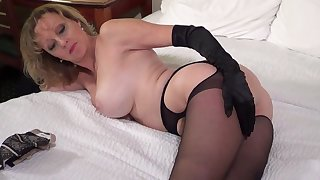 Big Tit Mature Aurora Models Pantyhose and Nylons