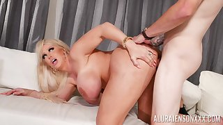 Doggy style merciless sex for the big ass cougar mom